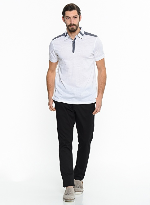 Comienzo Chino Pantolon Siyah